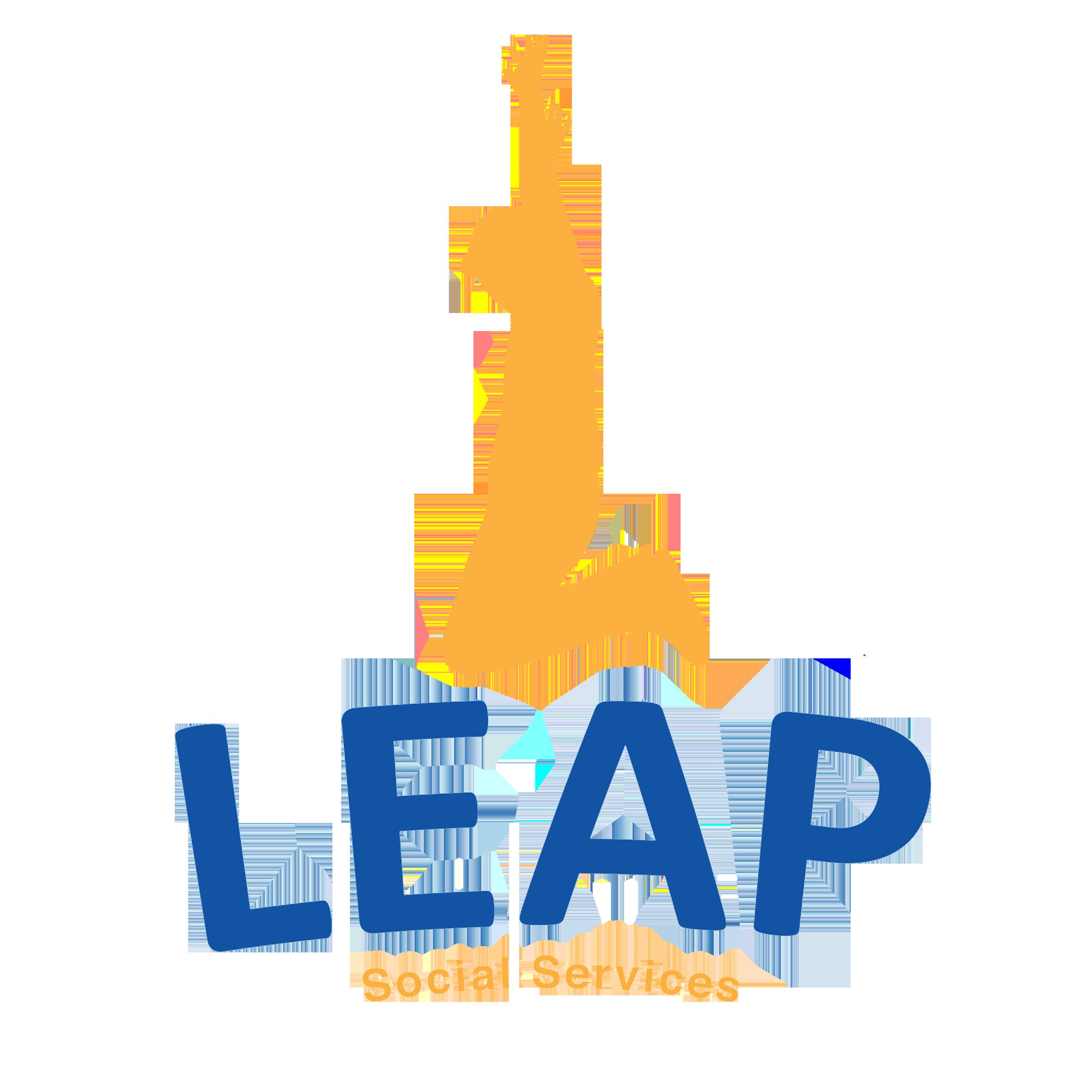 LEAP social services logo